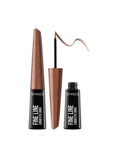 Divage Divage Fine Line 5409 Pearly Brown 3Ml Eyeliner Renkli